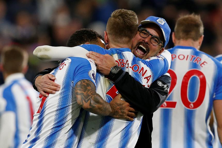 Huddersfield Town vs West Bromwich Albion - David Wagner