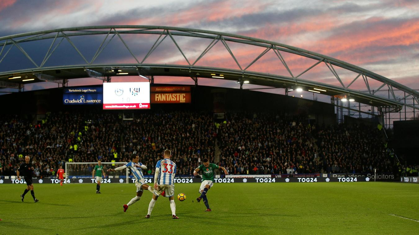 Huddersfield Town 1-0 West Bromwich Albion