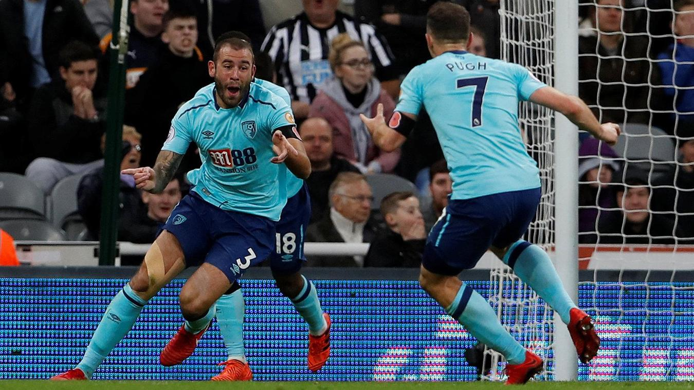 Newcastle United 0-1 AFC Bournemouth