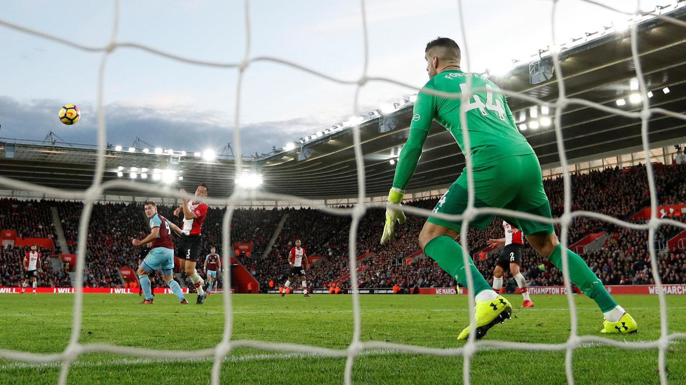 Southampton 0-1 Burnley