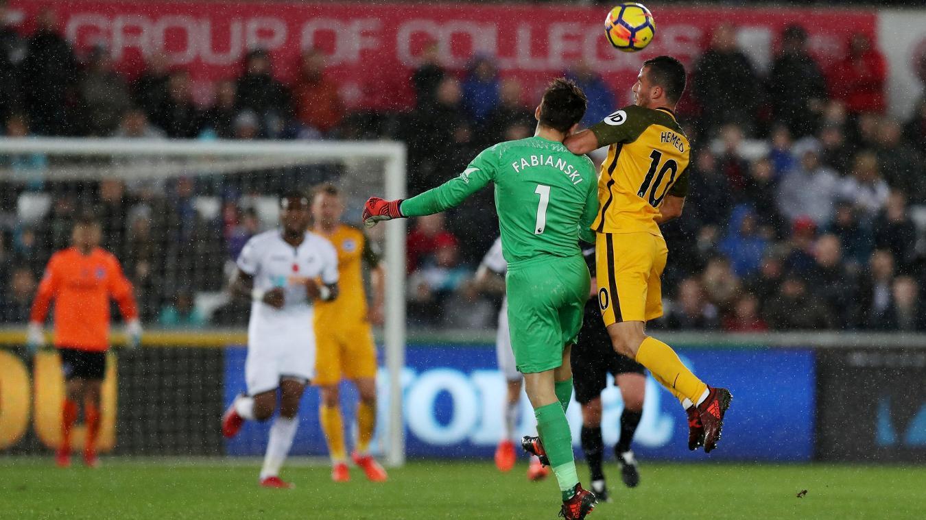 Swansea City 0-1 Brighton & Hove Albion