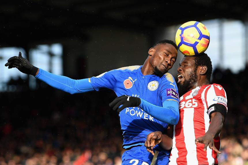 Ndidi, Iheanacho In Action As Leicester Deny Stoke Away Win