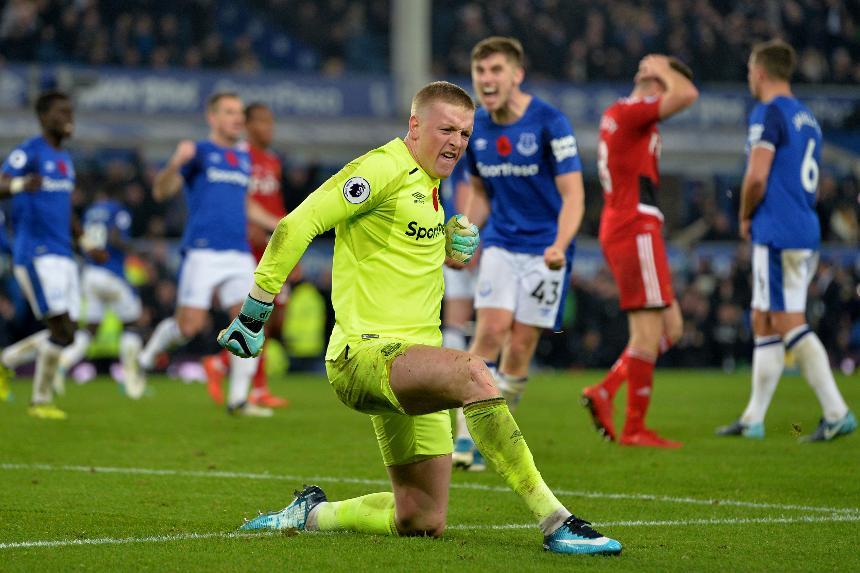 Jordan Pickford - Everton vs Watford
