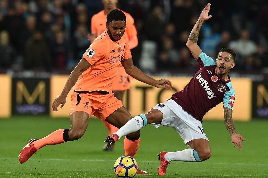 West Ham United v Liverpool - Joe Gomez