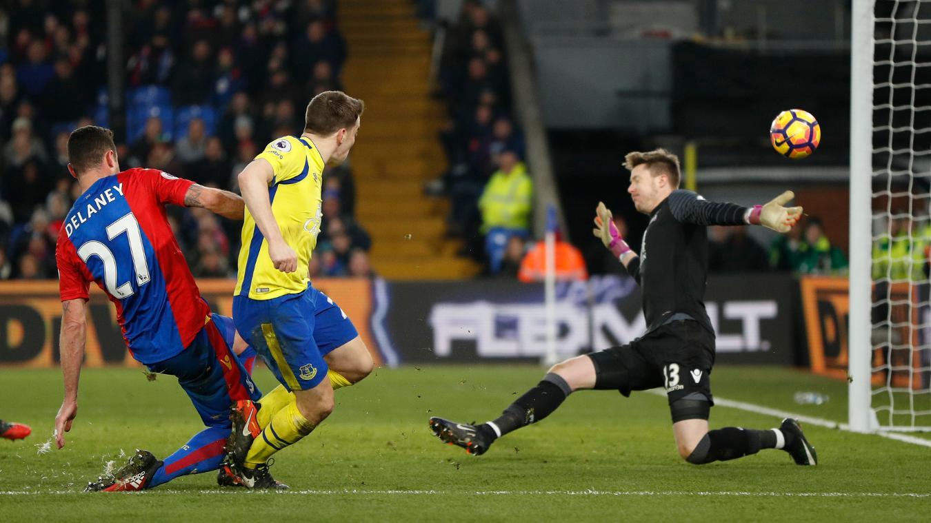 Crystal Palace v Everton, 18 November