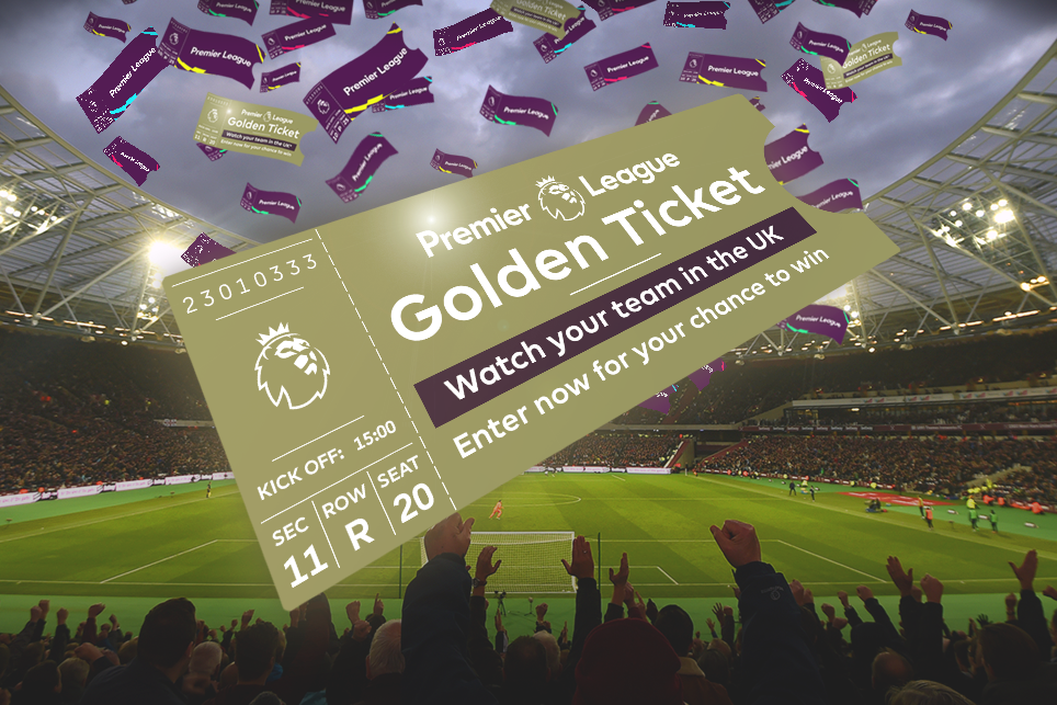 The premier league golden ticket twitter sweepstakes - Leicester city ticket office contact number ...