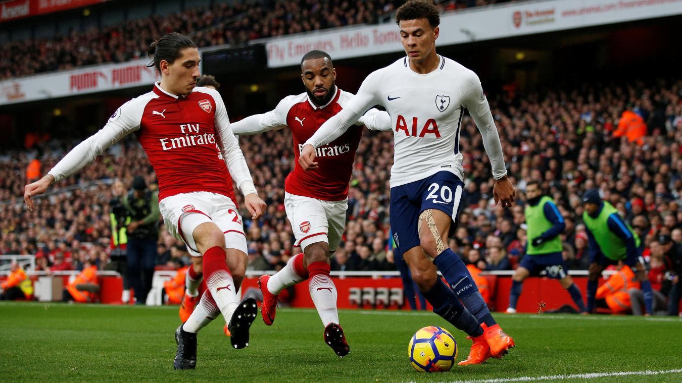 Derrota del Tottenham ante el Arsenal (2-0); el City sigue al frente de la Premier