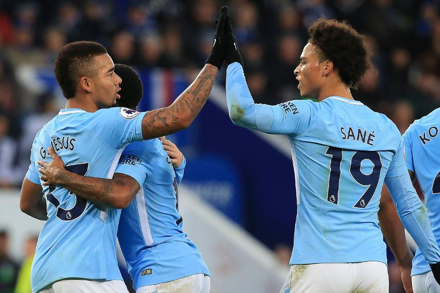 Leicester City 0-2 Manchester City