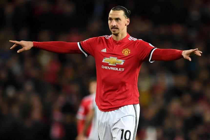 Manchester United v Newcastle United - Zlatan Ibrahimovic