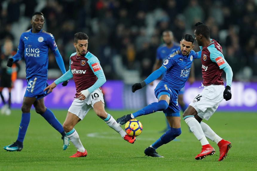 Premier League - West Ham United vs Leicester City