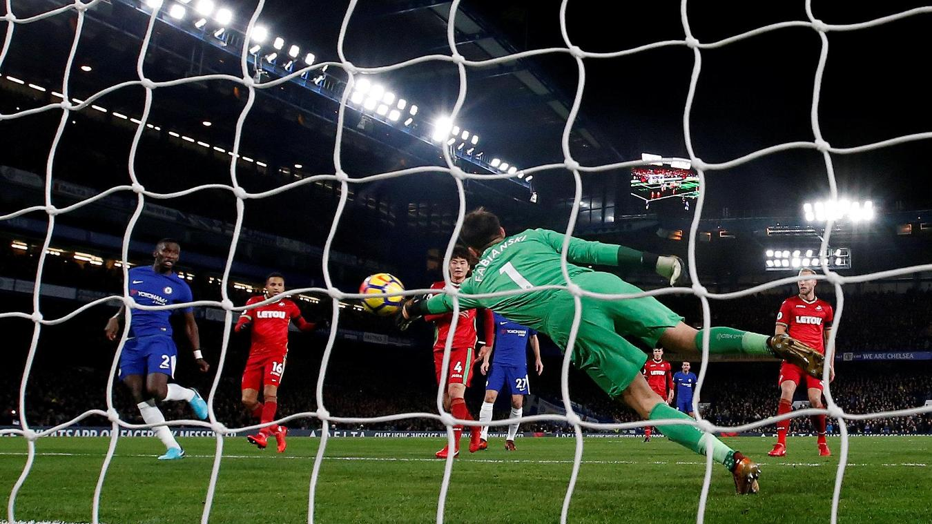 Chelsea 1-0 Swansea City