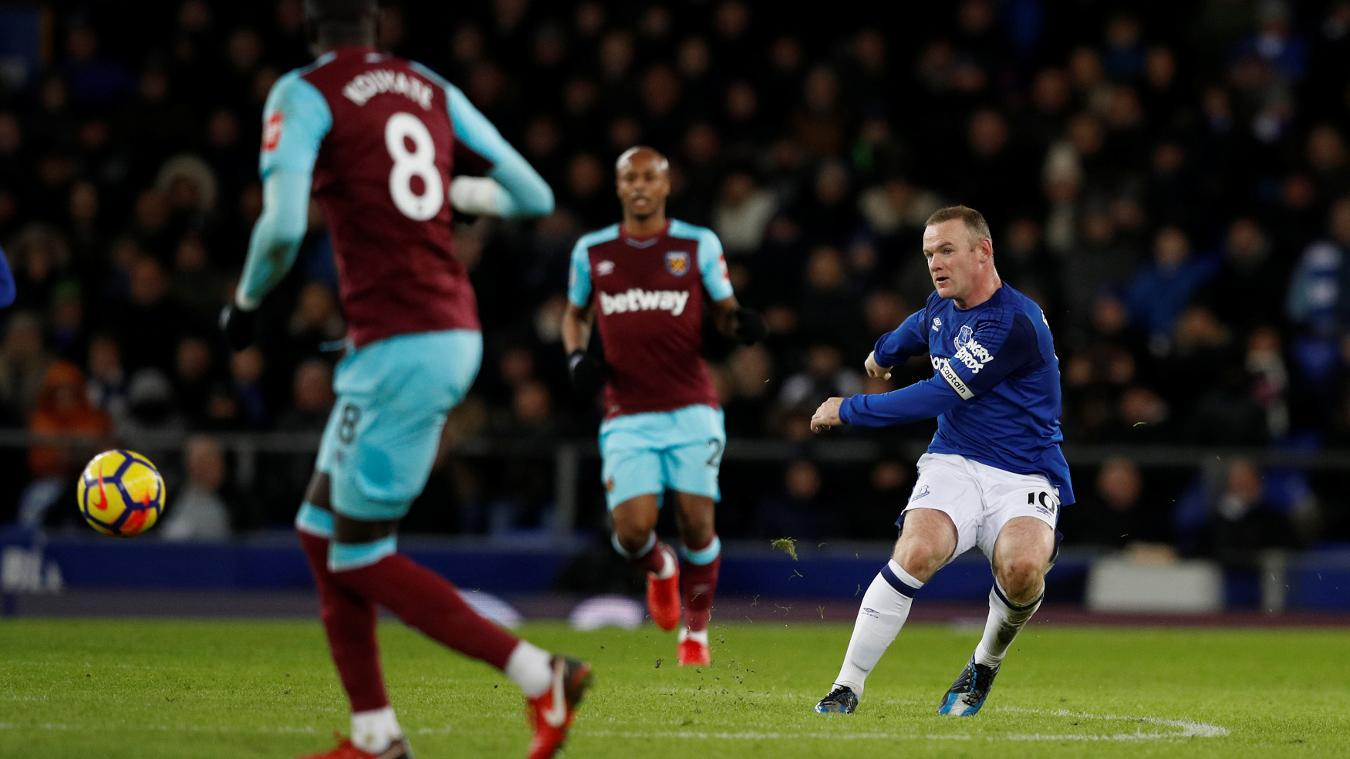 Everton 4-0 West Ham United