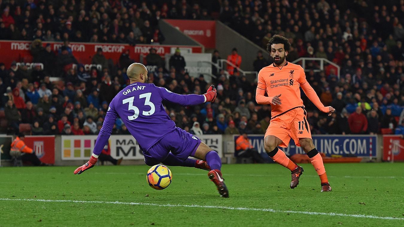 Stoke City 0-3 Liverpool