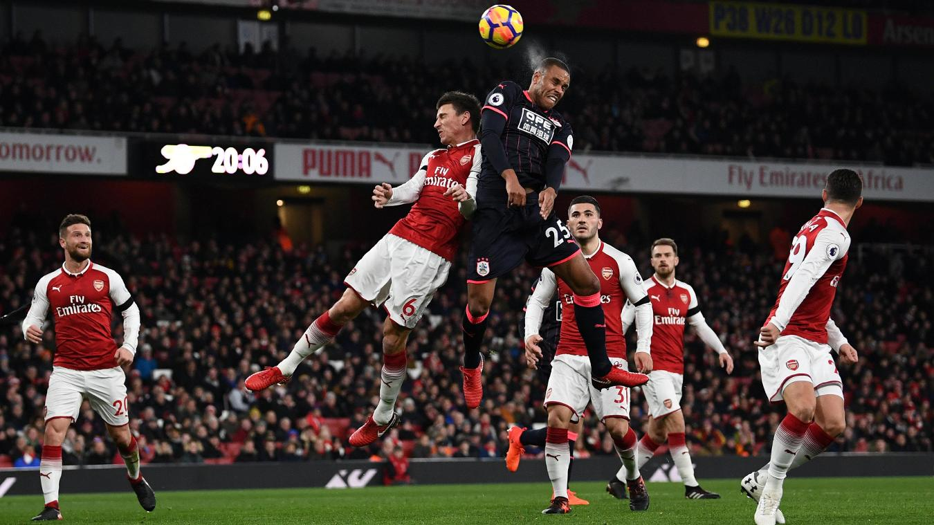 Arsenal 4-0 Huddersfield Highlights
