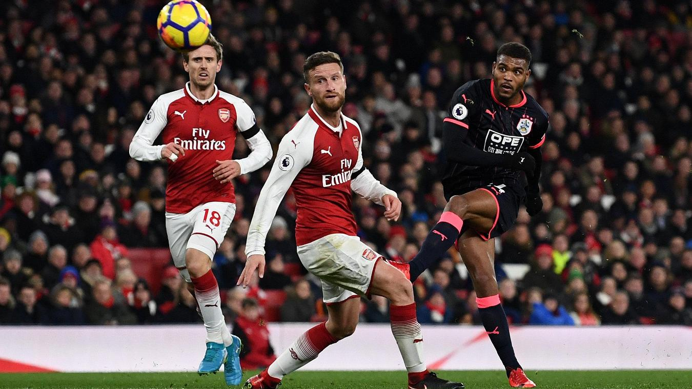 Arsenal vs Huddersfield Town Highlights