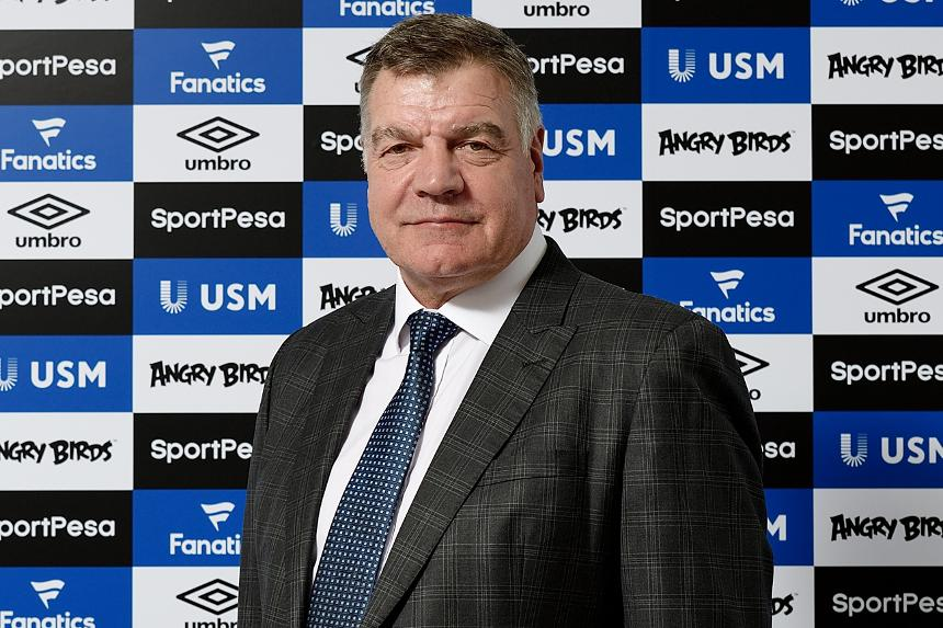 Sam Allardyce takes over as Everton manager