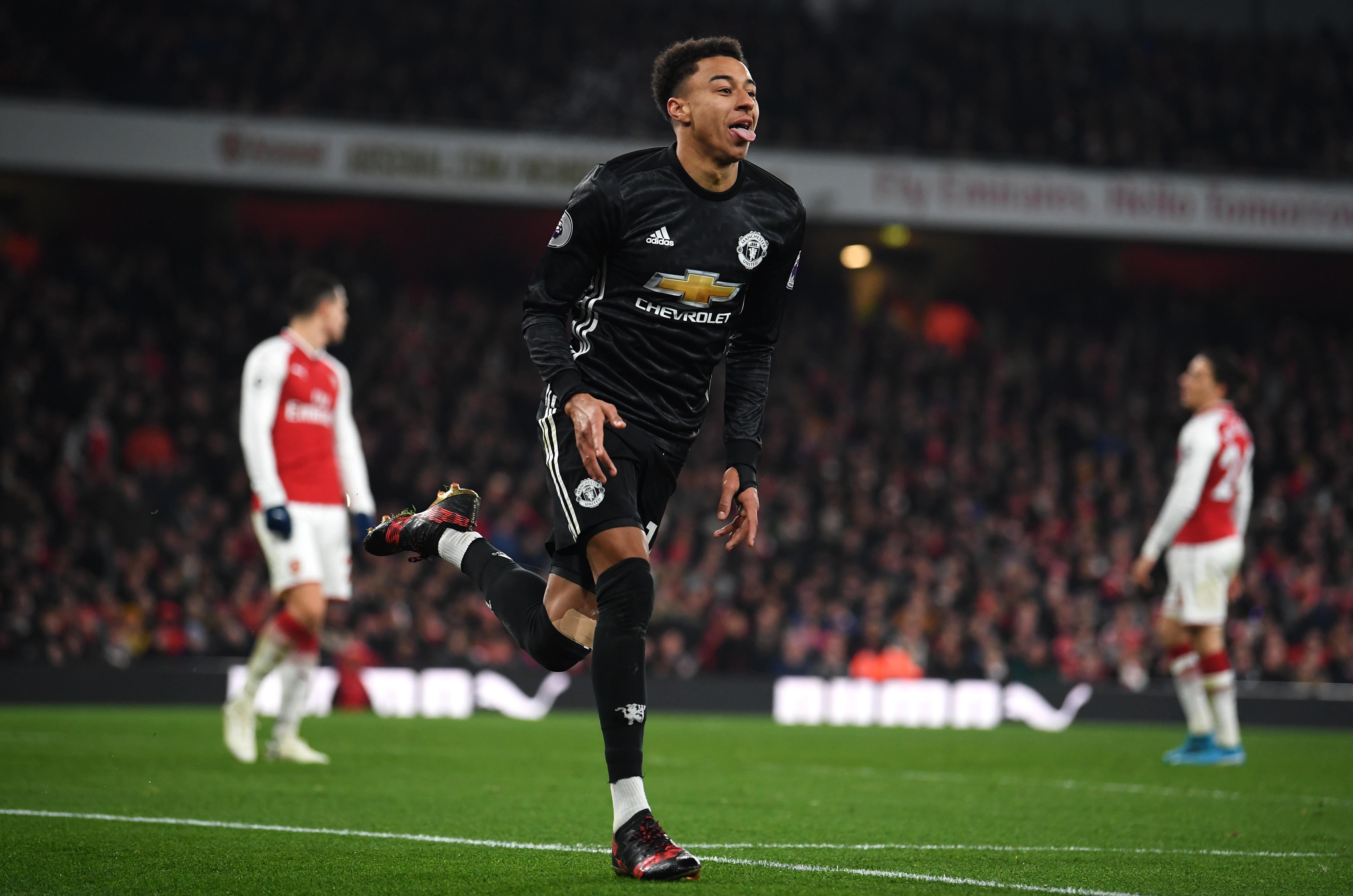 arsenal v manchester united premier league