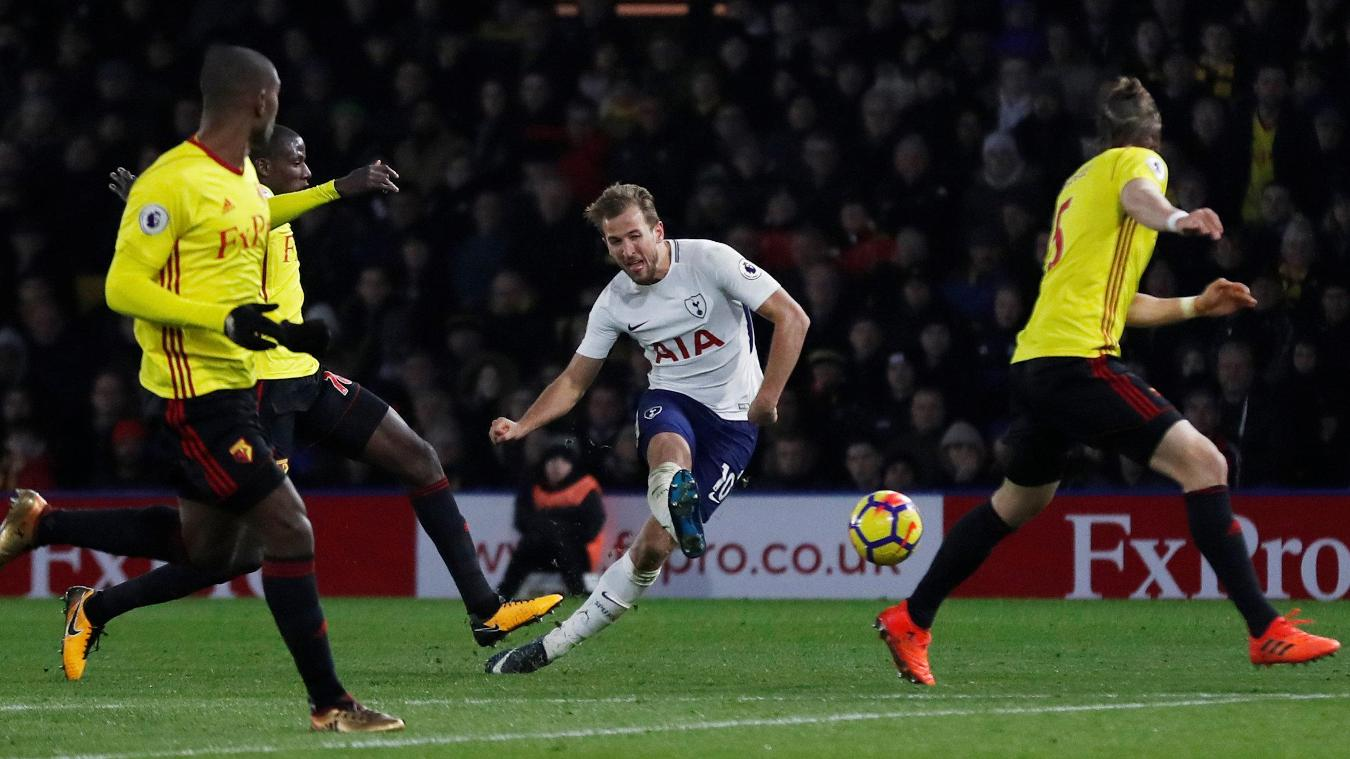 Watford 1-1 Tottenham Highlights