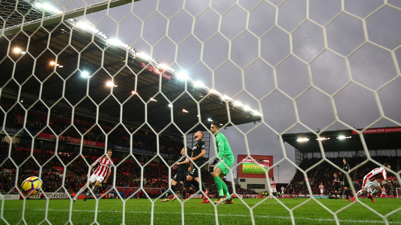 Stoke City 2-1 Swansea City