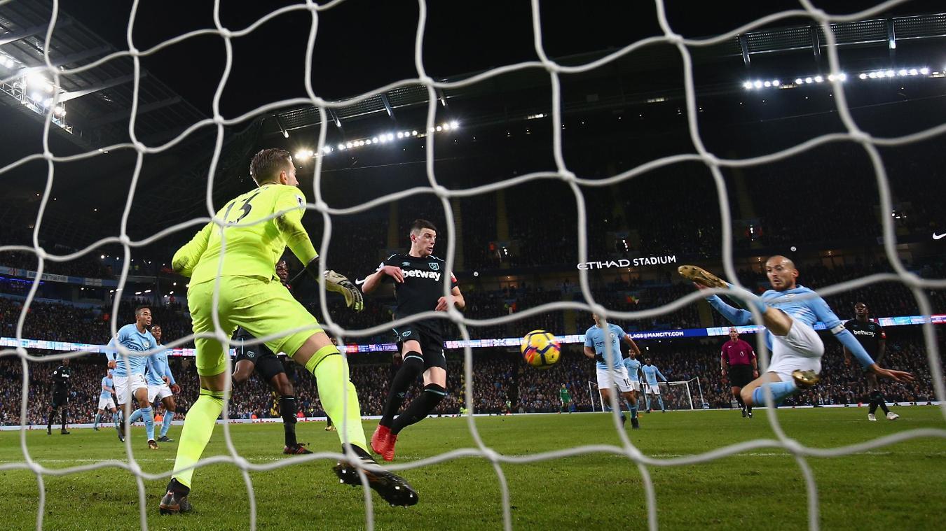 Man City 2-1 West Ham