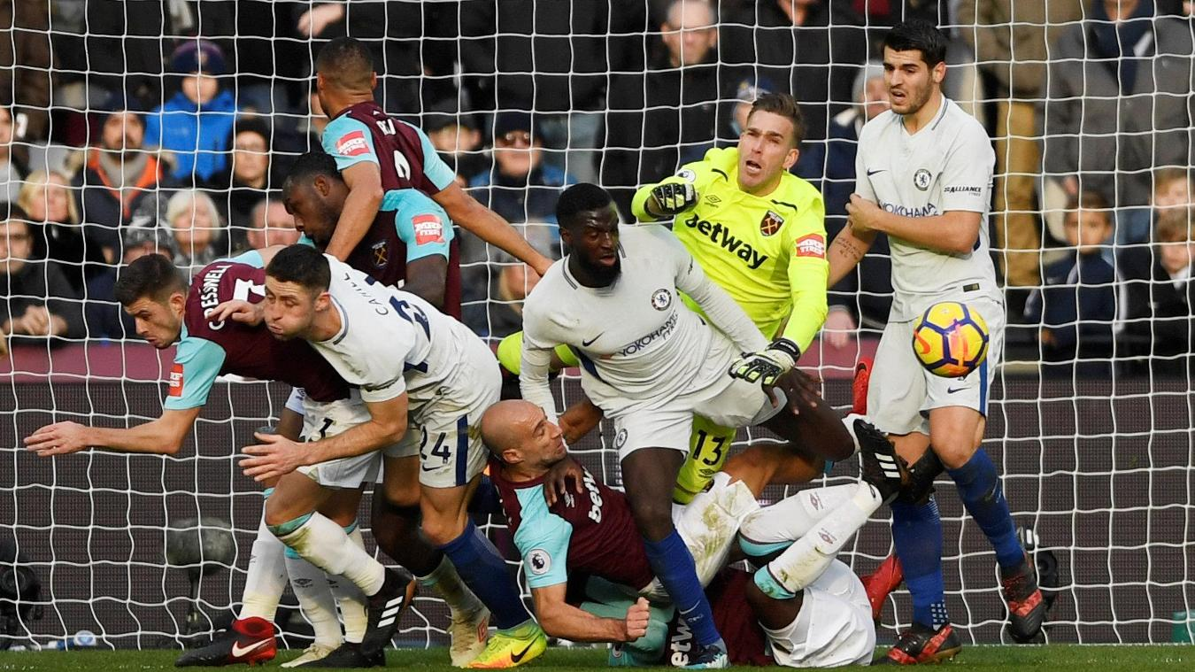 West Ham United vs Chelsea Highlights