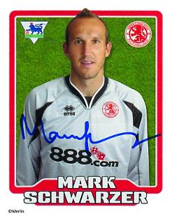 Mark schwarzer topps football stickers leicester city - Leicester city ticket office contact number ...