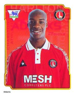 Richard rufus topps football stickers premier league for Epl table 1998 99