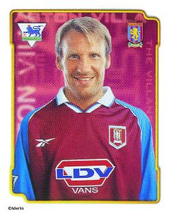 Paul merson topps football stickers fw england premier for Prem league table 99 00