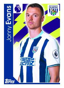 Jonny evans topps football stickers leicester city - Leicester city ticket office contact number ...