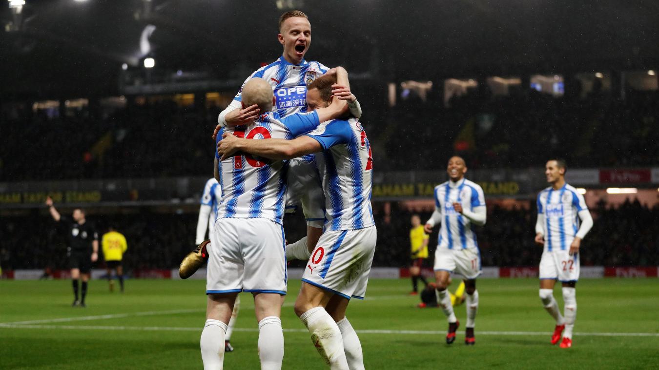 Watford 1-4 Huddersfield Town Highlights