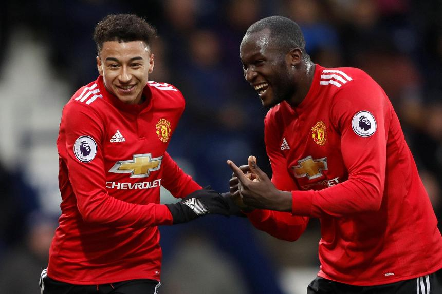 739f1f75d Lukaku and Lingard help Man Utd close the gap