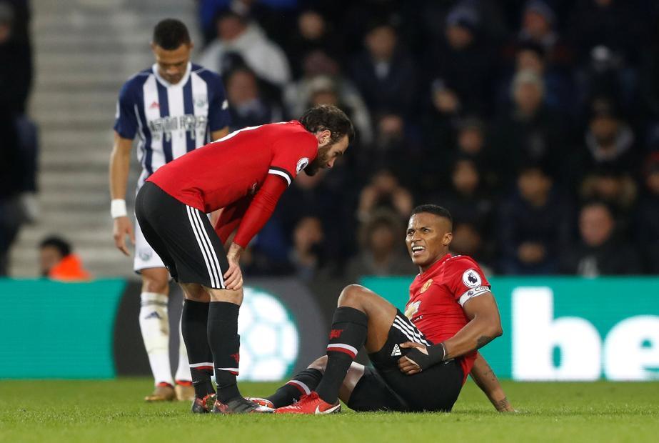 West Bromwich Albion v Manchester United - Antonio Valencia