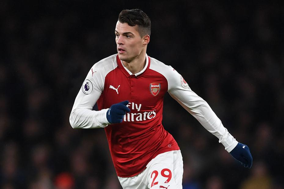 low priced 50180 7d64e Change of Arsenal shape puts the focus on Xhaka