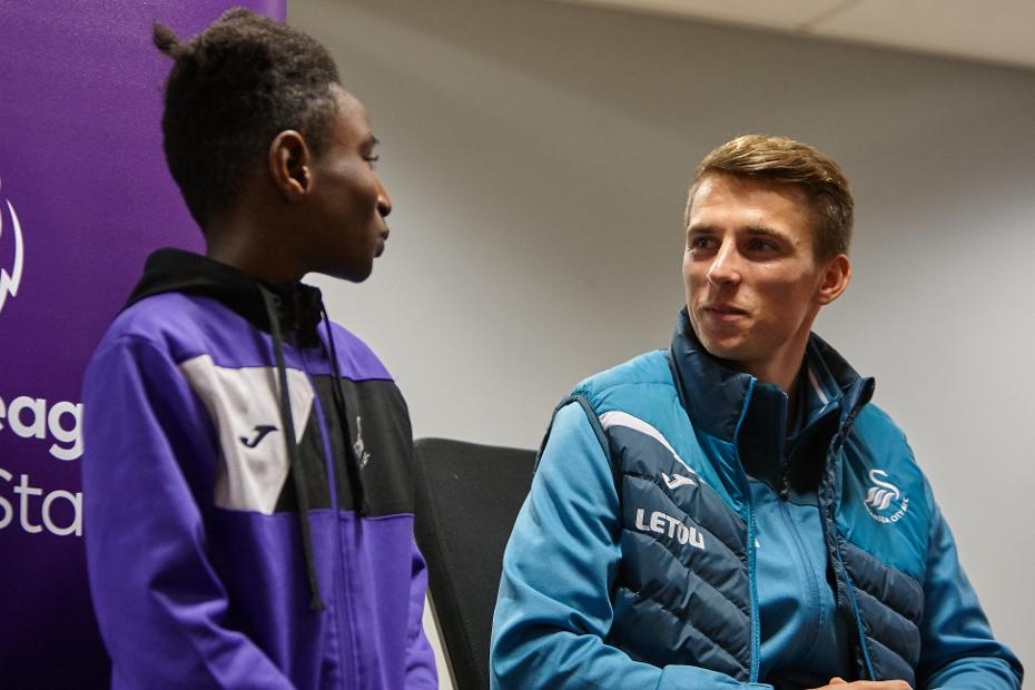 MJ and Tom Carroll, Swansea City