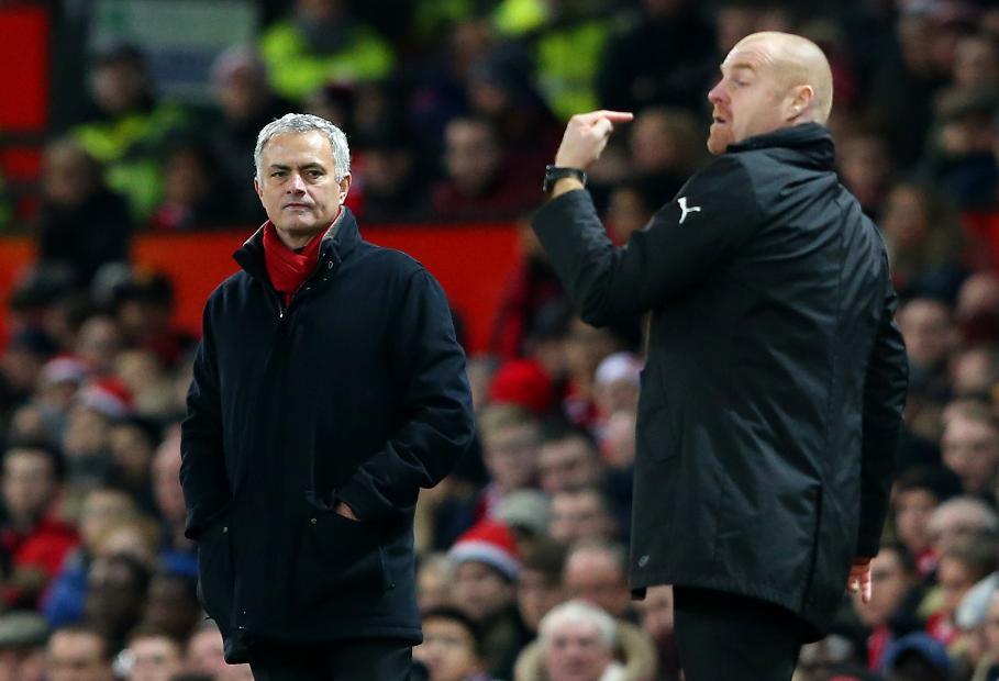 Mourinho and Dyche