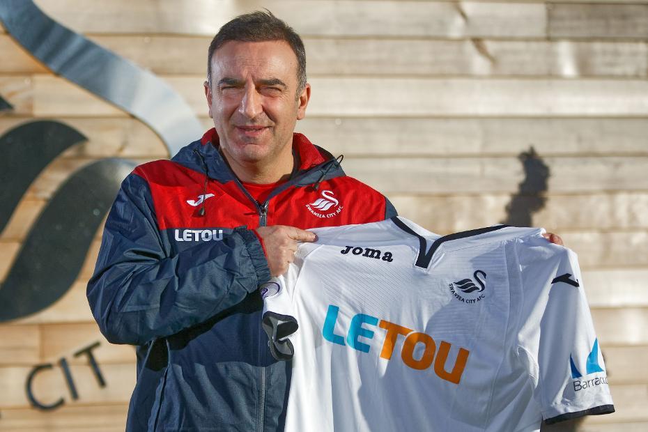 Carlos Carvalhal, Swansea City