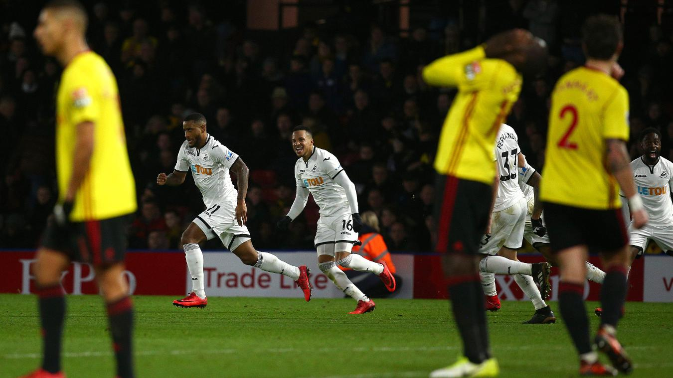 Watford 1-2 Swansea City