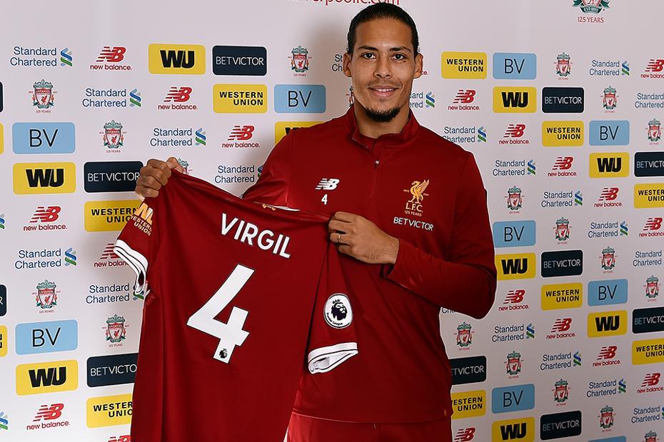 Virgil van Dijk joins Liverpool