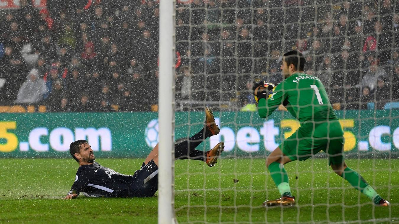 Swansea City 0-2 Tottenham Hotspur