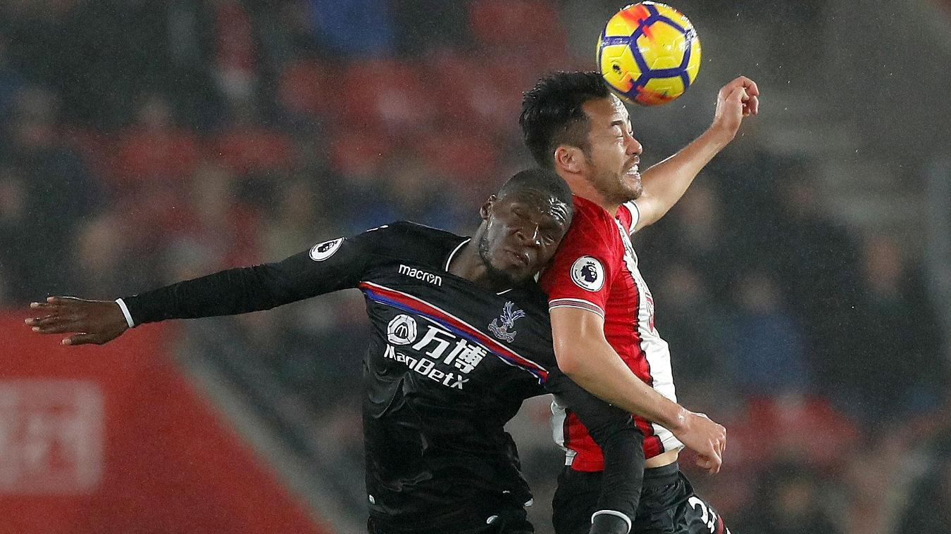 Southampton 1-2 Crystal Palace