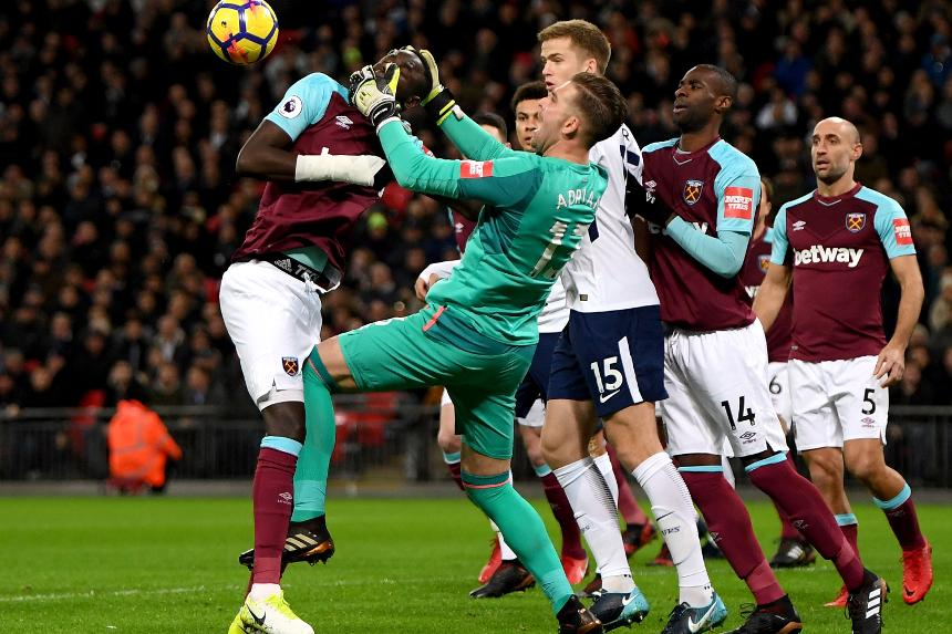 Spurs 1-1 West Ham
