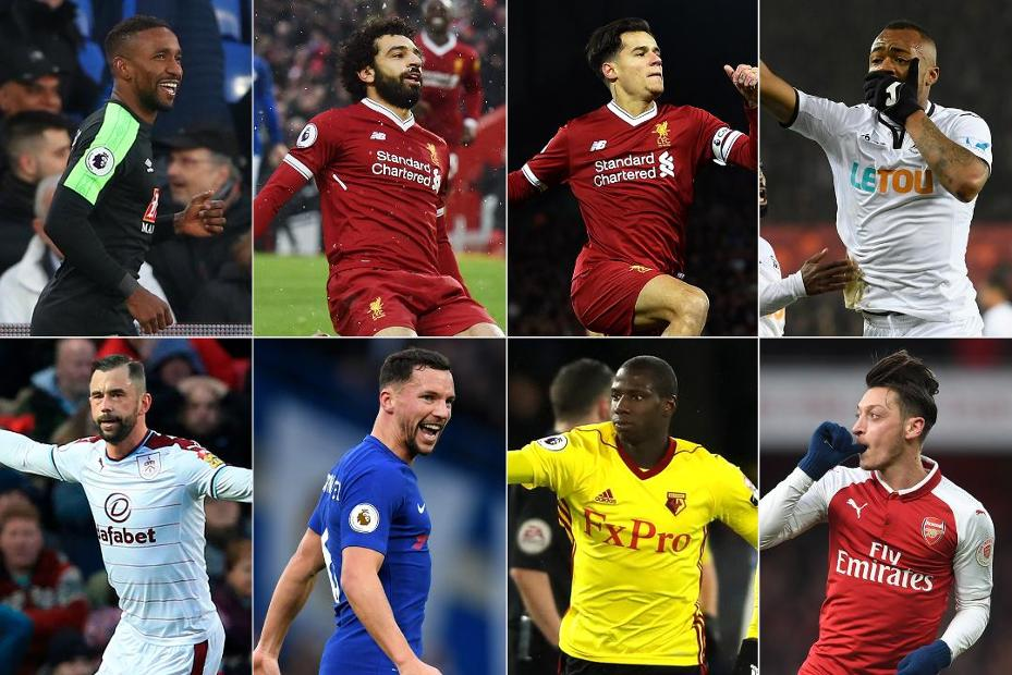 Carling Goal of the Month contenders