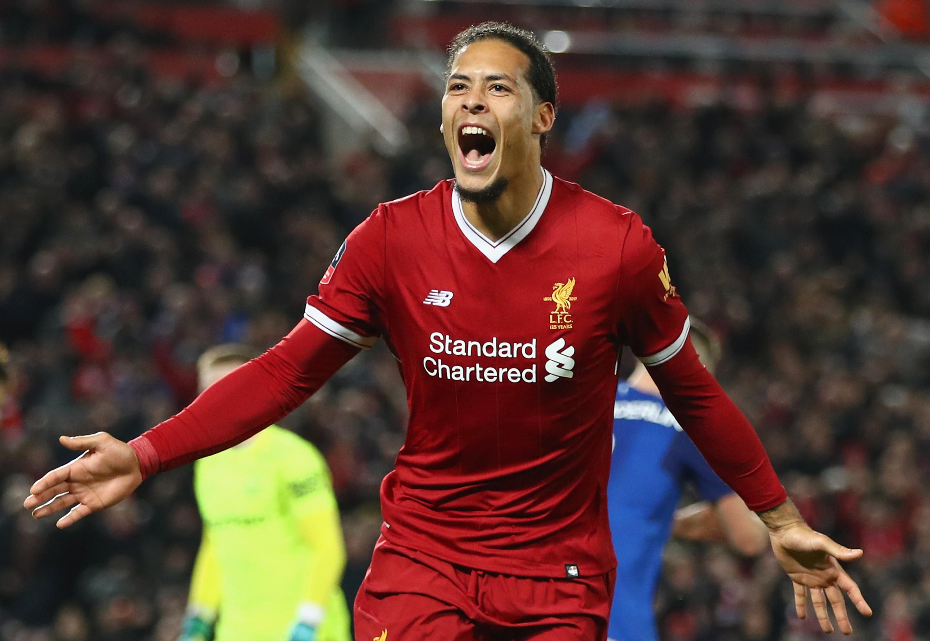 Image result for van dijk""