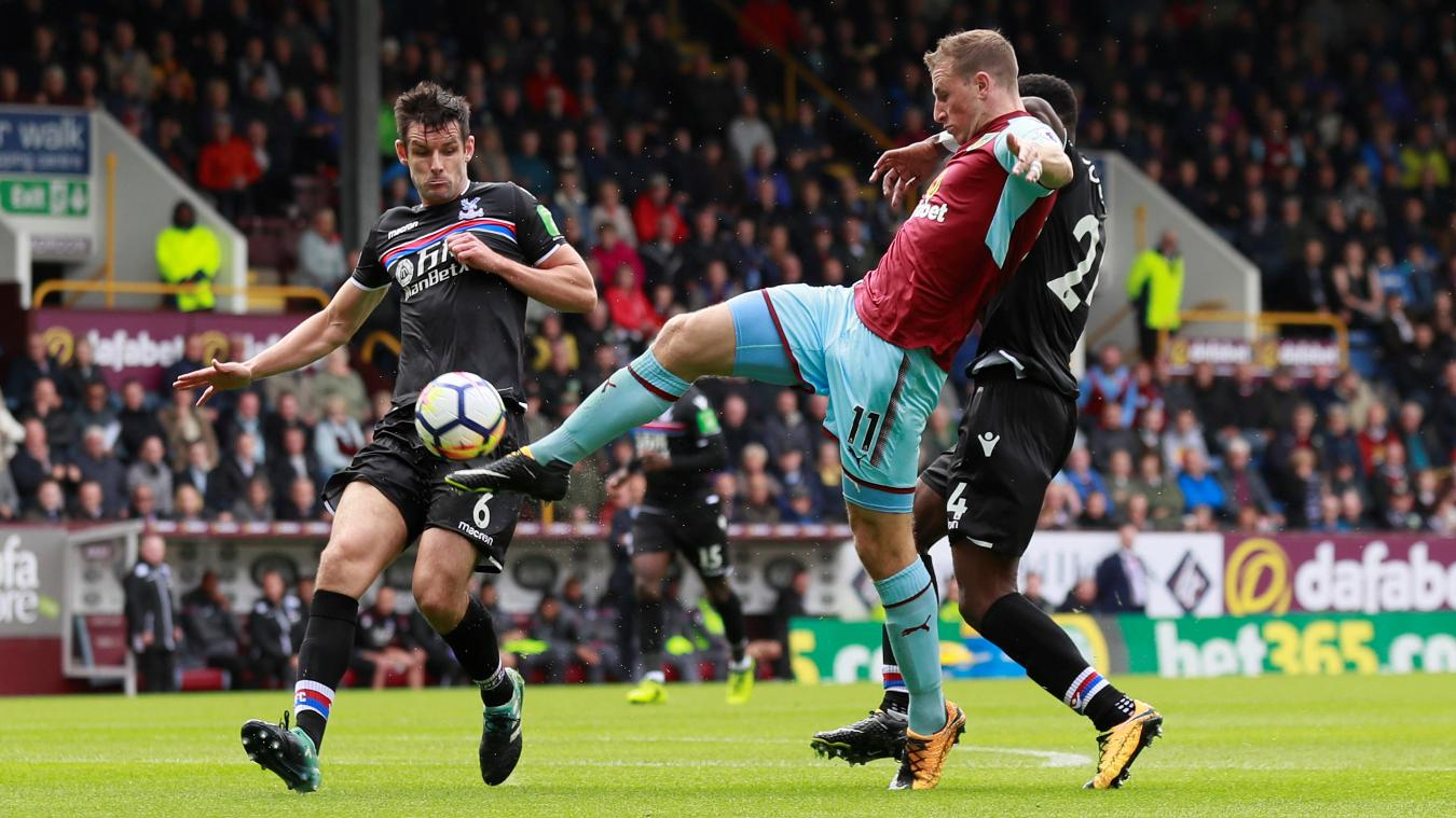 Crystal Palace v Burnley, 13 January