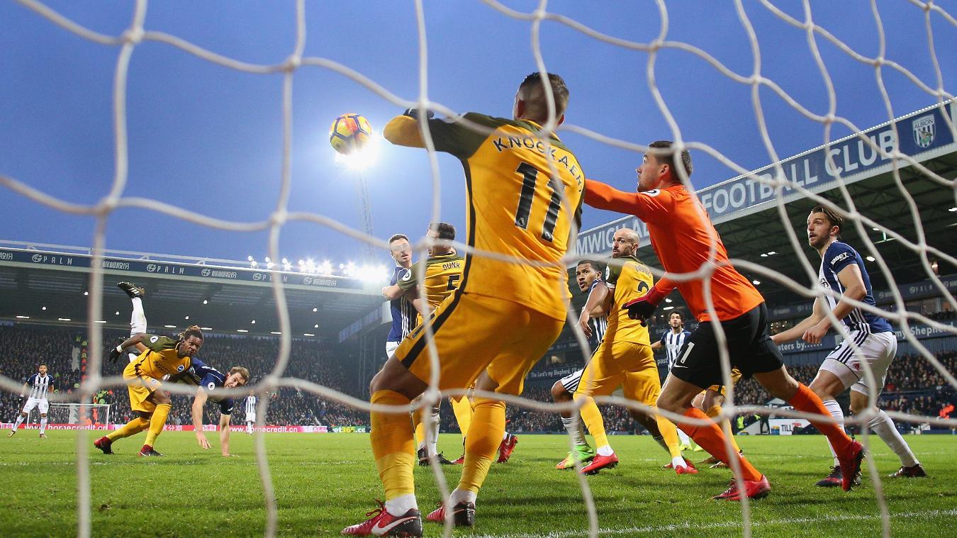 West Brom 2-0 Brighton