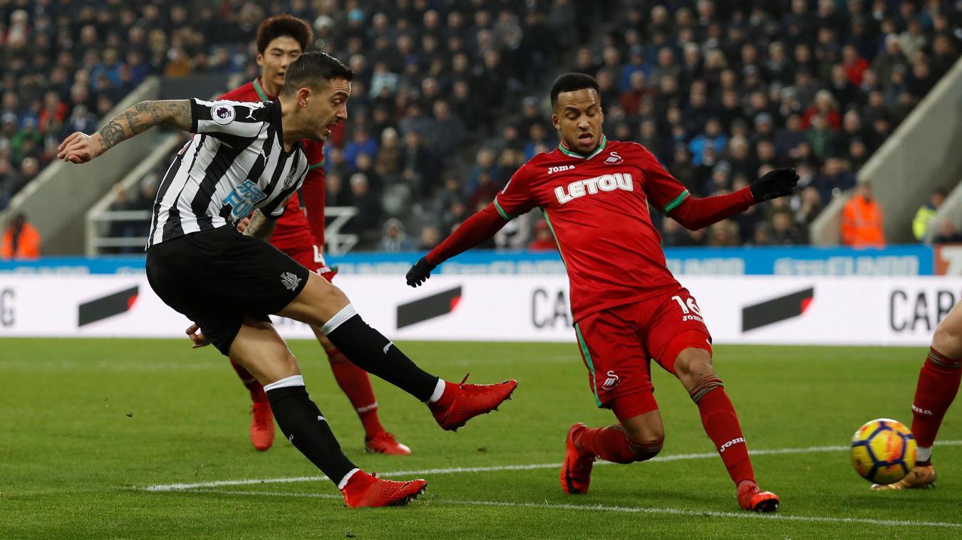 Newcastle United 1-1 Swansea City