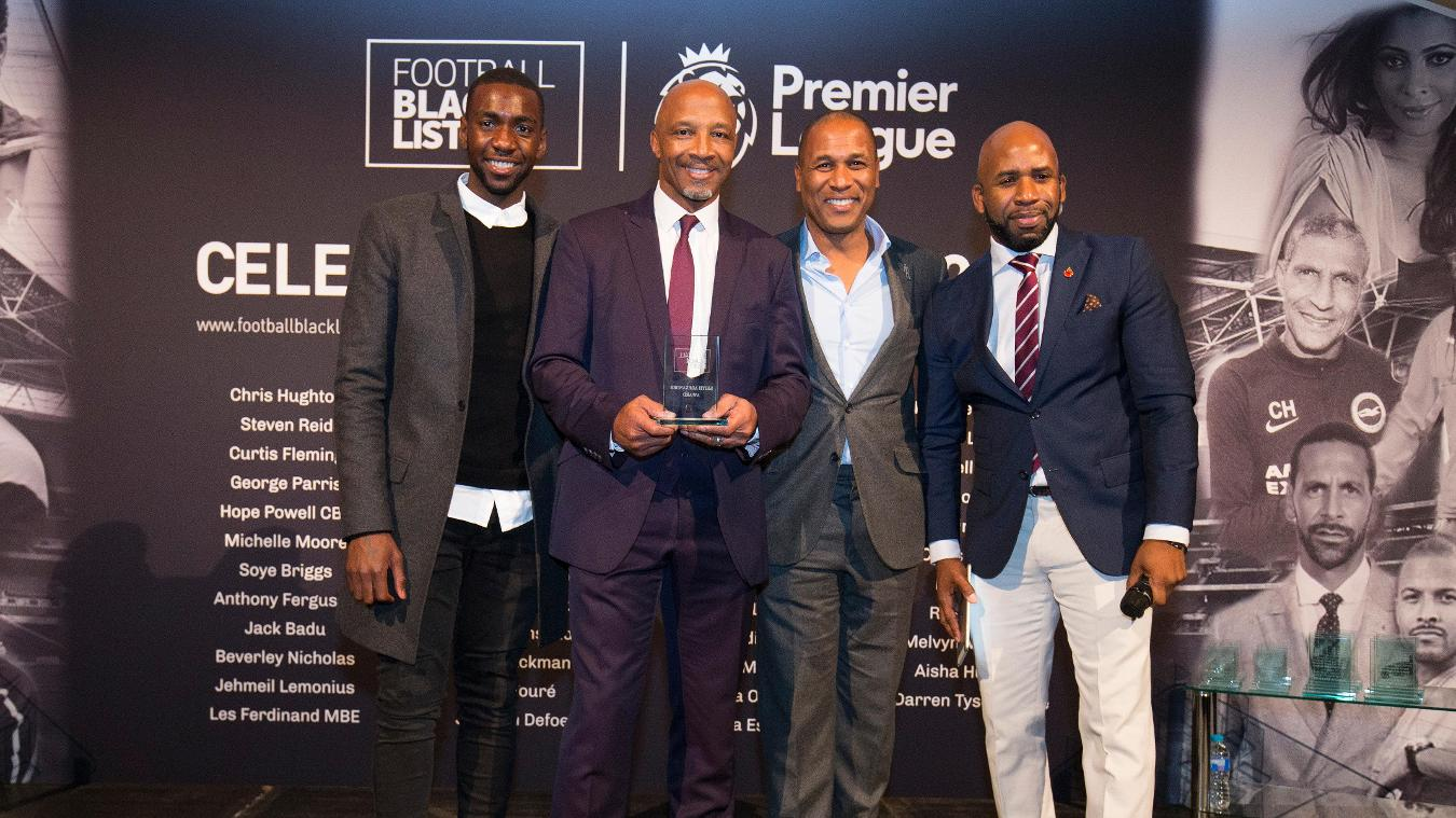 Cyrille Regis, Football Black List