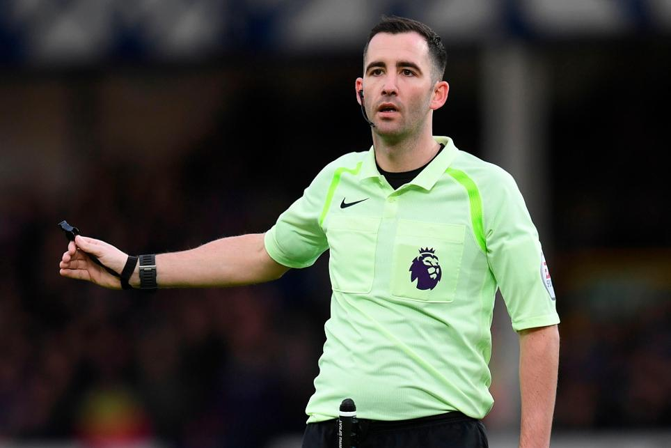 Referee ChrisKavanagh