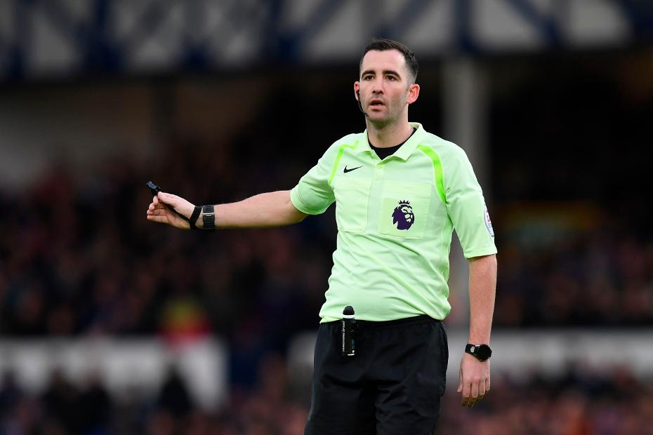 Referee Chris Kavanagh