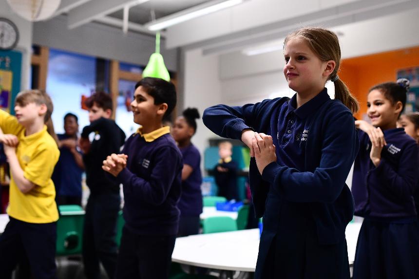 Super Movers, Ashmount Primary School